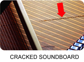 CRACKED SOUNDBOARD